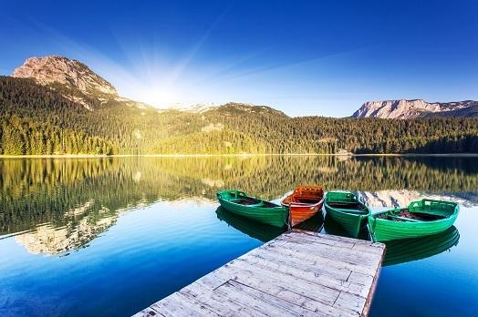 Черное озеро Дурмитор Черногория
