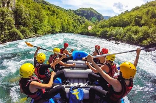 Рафтинг в Черногории