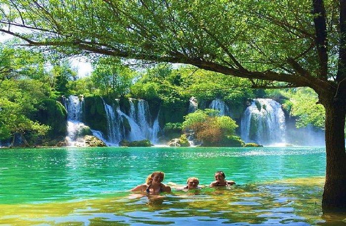 Водопады Кравице