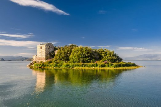 Острова Скадарского озера