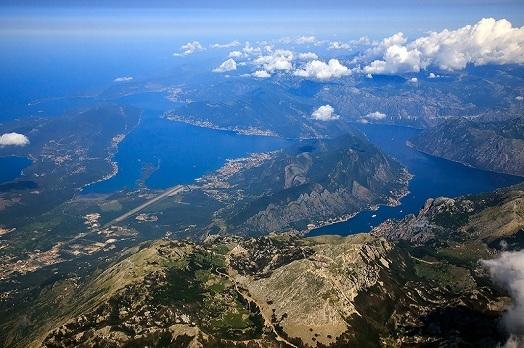 Панорама на Бока Которскую бухту