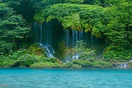 Водопады Каньон Черногория