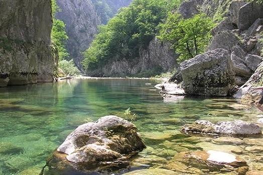 Каньон реки Комарница Черногория